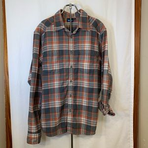 Men's Kavu Flannel L/S Shirt Size L